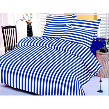 Set of 2 Valtellina Double Bedsheet With 4 Pillow Cover-MO001007