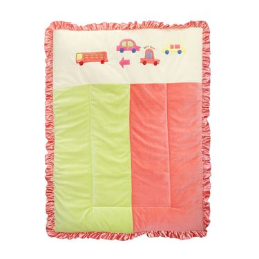 Wonderkids Baby Car Print Quilt (Single)