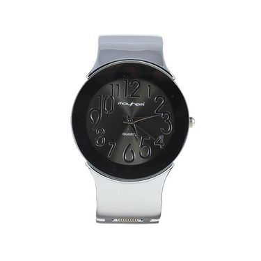 Mayhem Analog Round Dial Watch_Ma2920 - Grey