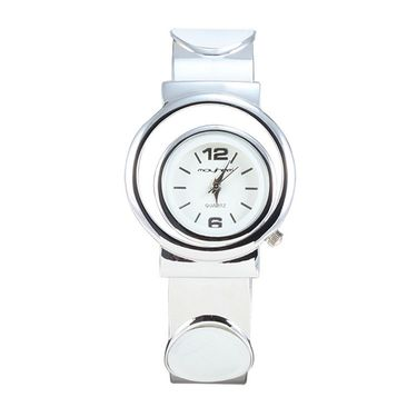Mayhem Analog Round Dial Watch_Ma2928 - White