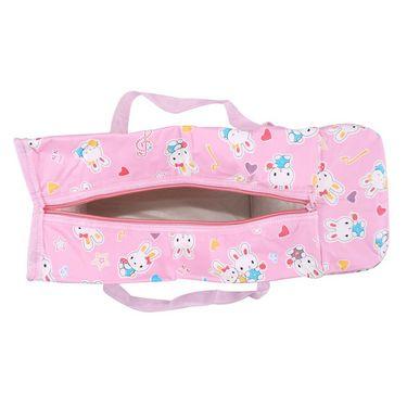 Ole Baby Premium Bunny Diaper Bag With Warmer Pink_OB-DBWW-B048