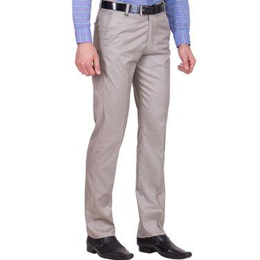 Tiger Grid Pack of 3 Cotton Formal Trouser For Men_Md037