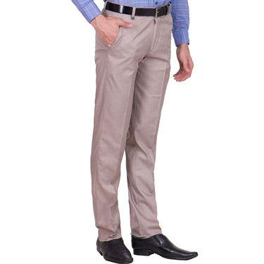Tiger Grid Pack of 3 Cotton Formal Trouser For Men_Md053
