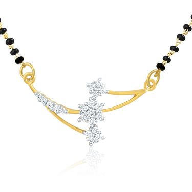 Mahi CZ Gold Plated Mangalsutra Set_Nl1101407g