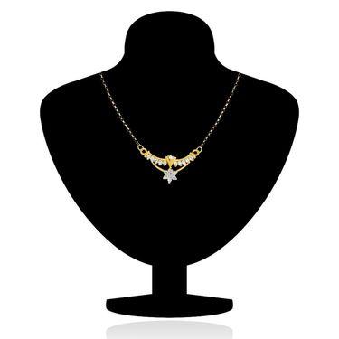 Mahi CZ Gold Plated Mangalsutra Set_Nl1101513g