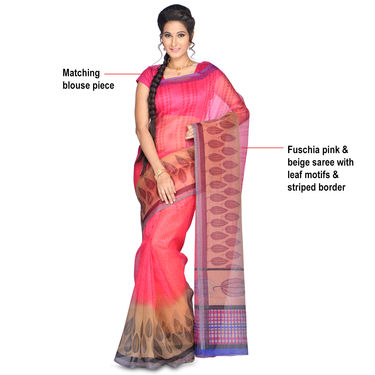 Naina Pack of 7 Printed Kota Doria Sarees by Pakhi (7K6)