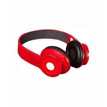 Vibrandz BQ-605 Wireless Bluetooth Headset - Red