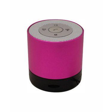 Vibrandz Smart Bluetooth with LED Wireless Speaker - Pink
