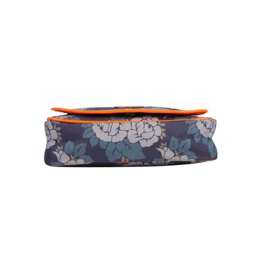 Be For Bag Canvas Clutch Sling Blue -Olenna