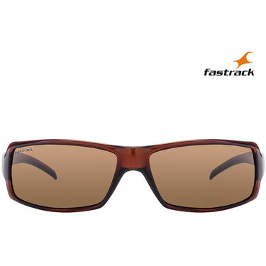 Fastrack Wayfarer Sunglasses For Unisex_P040br2 - Brown