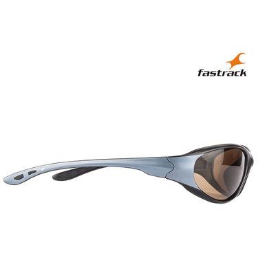 Fastrack Wayfarer Sunglasses For Unisex_P121br2 - Brown