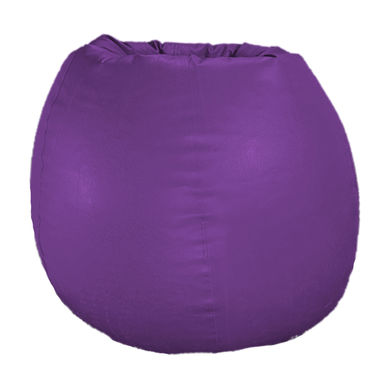 PSYGN Leatherette Standard Bean Bag Cover -  PBB200-PURPLE-XXL