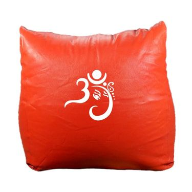 PSYGN Leatherette Chair Bean Bag Cover -  PBB301-RED-XXXL