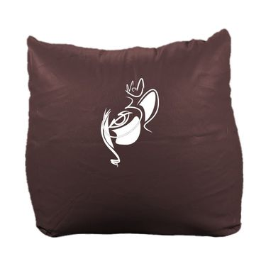 PSYGN Leatherette Chair Bean Bag Cover -  PBB304-BROWN-XXXL