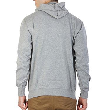 Printland Full Sleeves Cotton Hoodies_Pg1128 - Grey