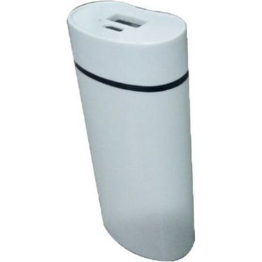 VOX 6000mAh USB Powerbank Portable Charger for Mobile PK-21 - White