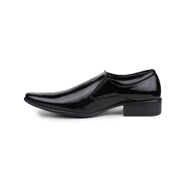 Pede Milan Patent Leather Black Formal Shoes -pde24
