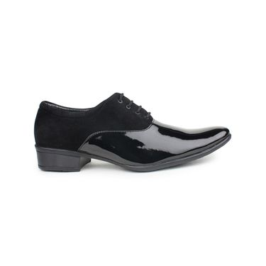 Pede Milan Patent Leather Black Formal Shoes -pde27