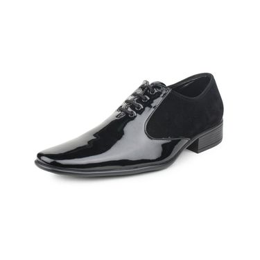 Pede Milan Patent Leather Black Formal Shoes -pde28