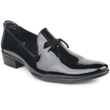 Pede Milan Patent Leather Black Formal Shoes -pde31