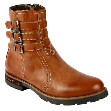 Bacca bucci Genuine Leather  Boots  PS-1032 - Tan