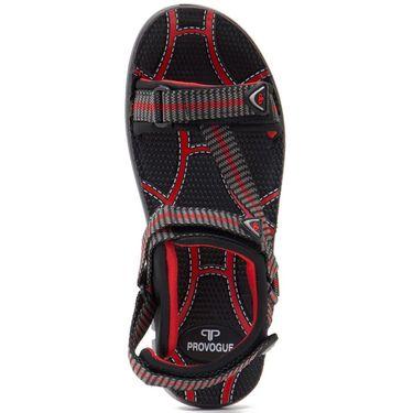 Provogue Mens Floater Sandals Pv1085-Red