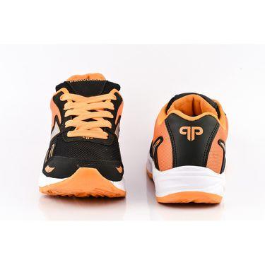 Provogue Mesh Sport Shoes Pv1094-Black & Orange-40