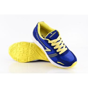Provogue Mesh Sport Shoes Pv1095-Blue & Yellow-40