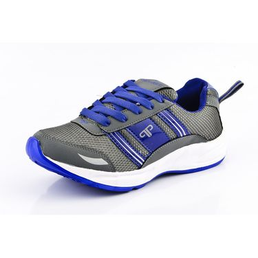 Provogue Mesh Sport Shoes Pv1098-Grey & Blue-40