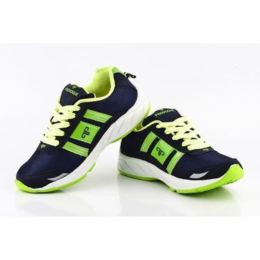 Provogue Mesh Sport Shoes Pv1098-Navy & Lt.Green-40