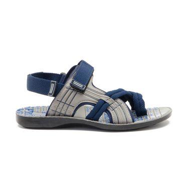 Provogue Mens Floater Sandals Pv1107-Blue & Grey