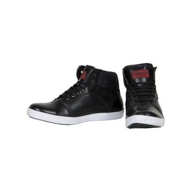 Provogue Black Sneaker Shoes -yp22