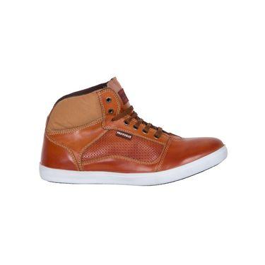 Provogue Tan Sneaker Shoes -yp23