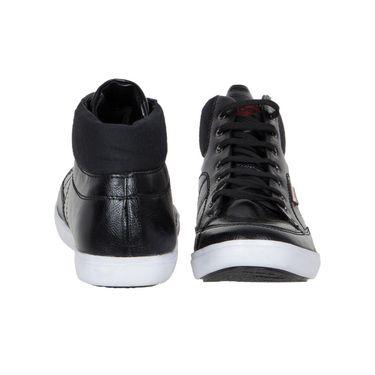 Provogue Black Sneaker Shoes -yp27
