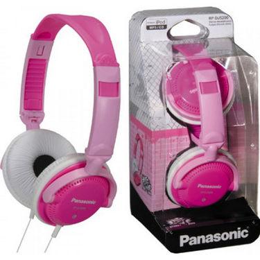 Panasonic RP-DJS200E-P DJ Style Headphones for iPods