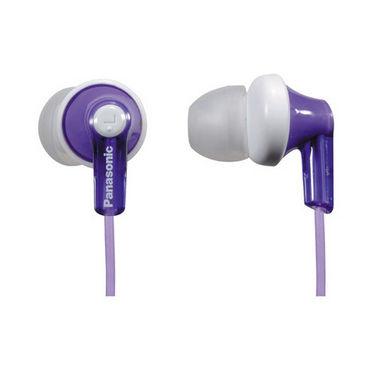 Panasonic RP-HJE118E-V In-Ear Earphone - Violet