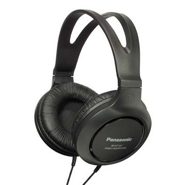Panasonic RP-HT161 On-Ear Canal Headphone - Black