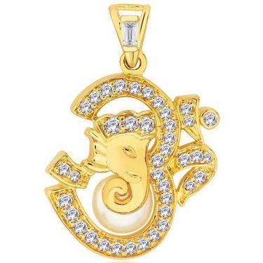 Peora Om Ganesha Pendant