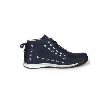 Pede Milan Faux Leather Sports Shoes Philintuf-Blue