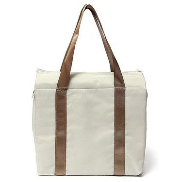 Branded Nylon Travel Organizer Picnic_Bag_Grey