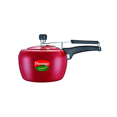 Prestige Apple Red Pressure Cooker - 3 Ltr (Induction Based)