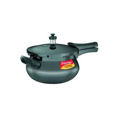 Prestige Deluxe Plus Hard Anodized Pressure Cooker Mini Handi 3.3 Ltr (Induction Based)