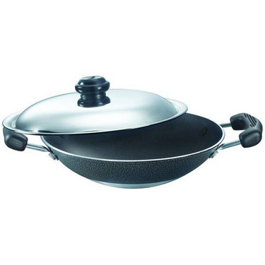 Prestige Non Stick Omega Select Plus Deep Appachetty 200 mm with SS Lid