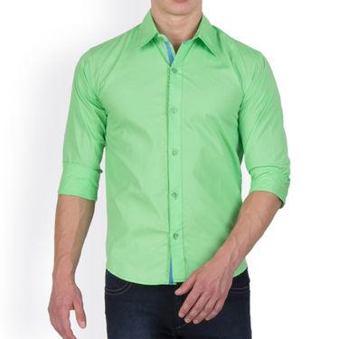 Incynk Plain Cotton Shirt_qss9g - Green