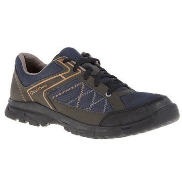 Quechua Hiking Black Shoes - 7 UK