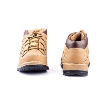 Kohinoor Footwears Faux Leather Casual Shoes RA037_Tan