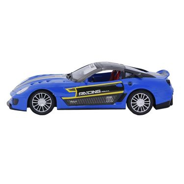 Fully Loaded 1:16 Rechargeable Remote Control Racing Car Toy - Dark Blue