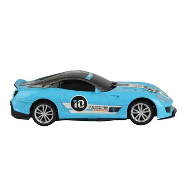 Fully Loaded 1:20 Rechargeable Remote Control Car Toy - Blue