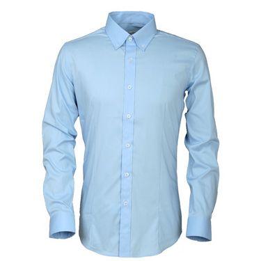 Royal Son Slim Fit Cotton Shirt For Men_Rs1s - Sky Blue