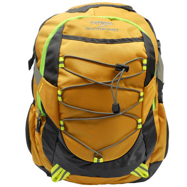 Donex Polyster Laptop Backpack RSC00667 -Yellow